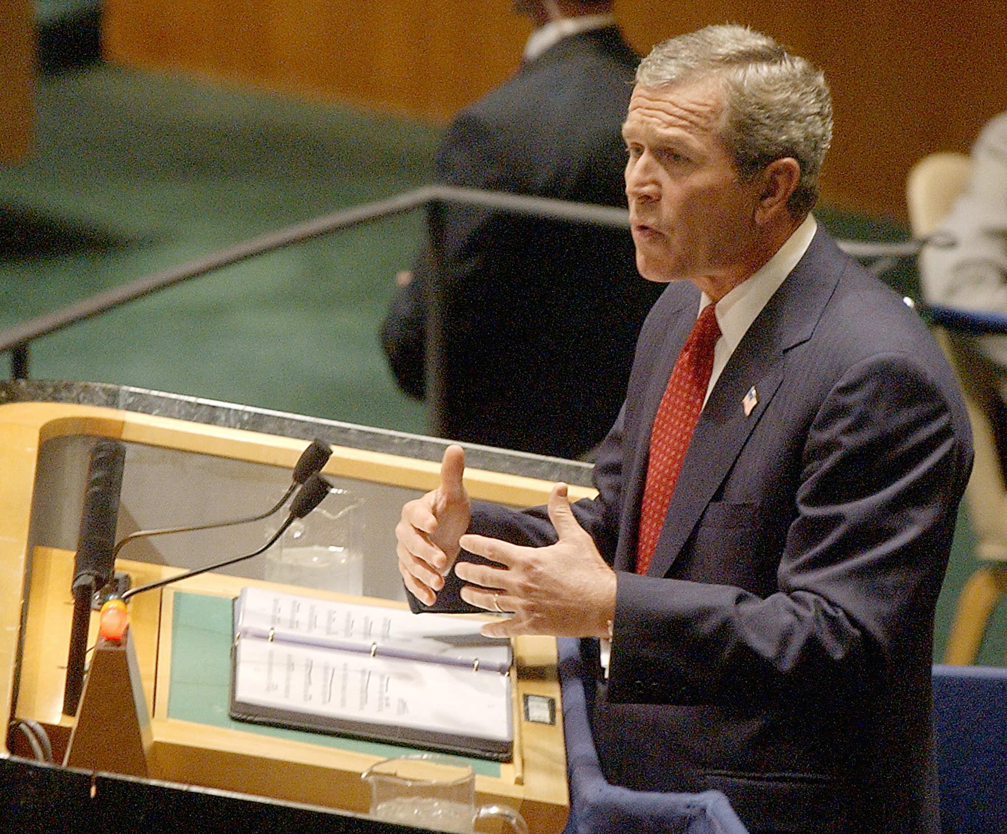 George W Bush (AFP)