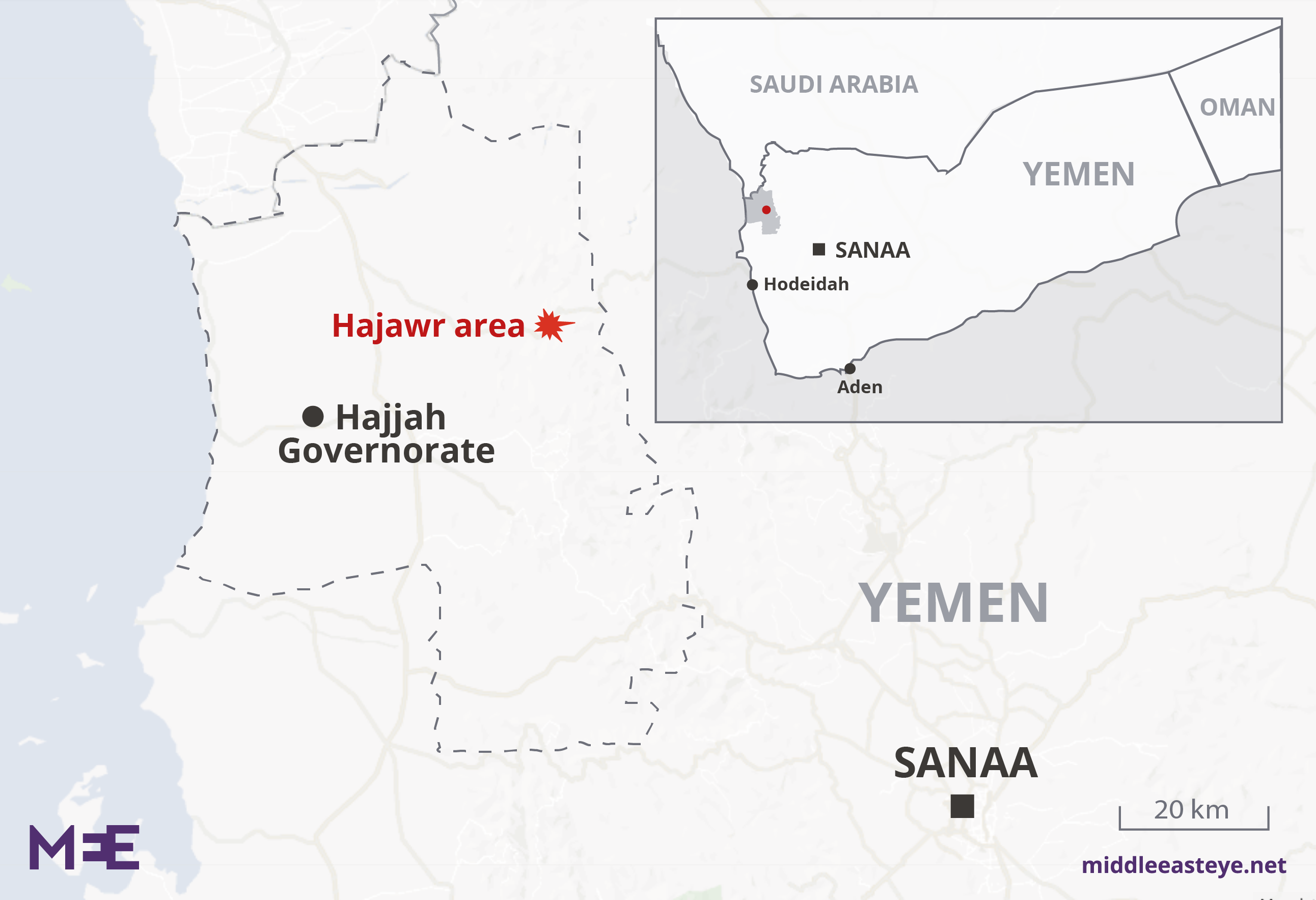 Kaart van Hajawr