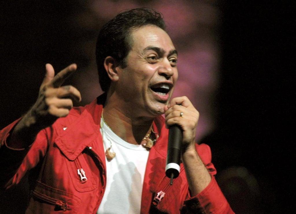Hakim singer afp