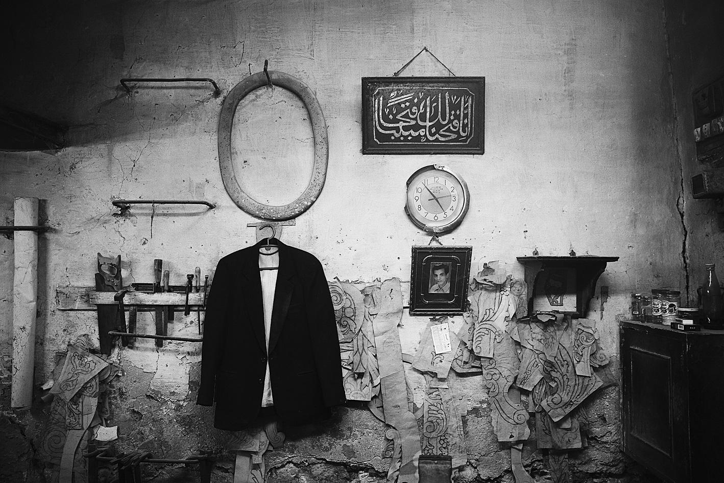 Photo issue de la série We're all fugitives de Hana Gamal (avec l'aimable autorisation de l'auteure)