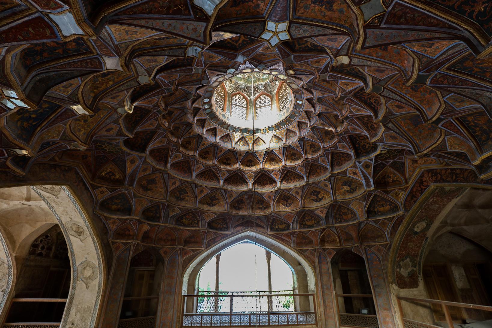 Hasht Behesht Palace Muqarnas