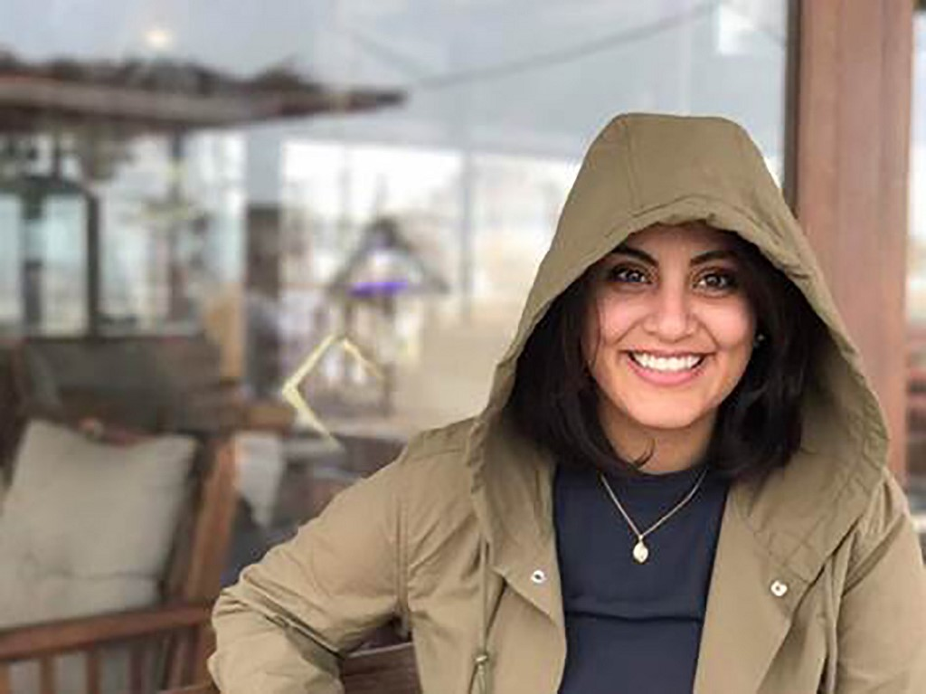 Women's rights activist Loujain al-Hathloul remains behind bars (AFP)