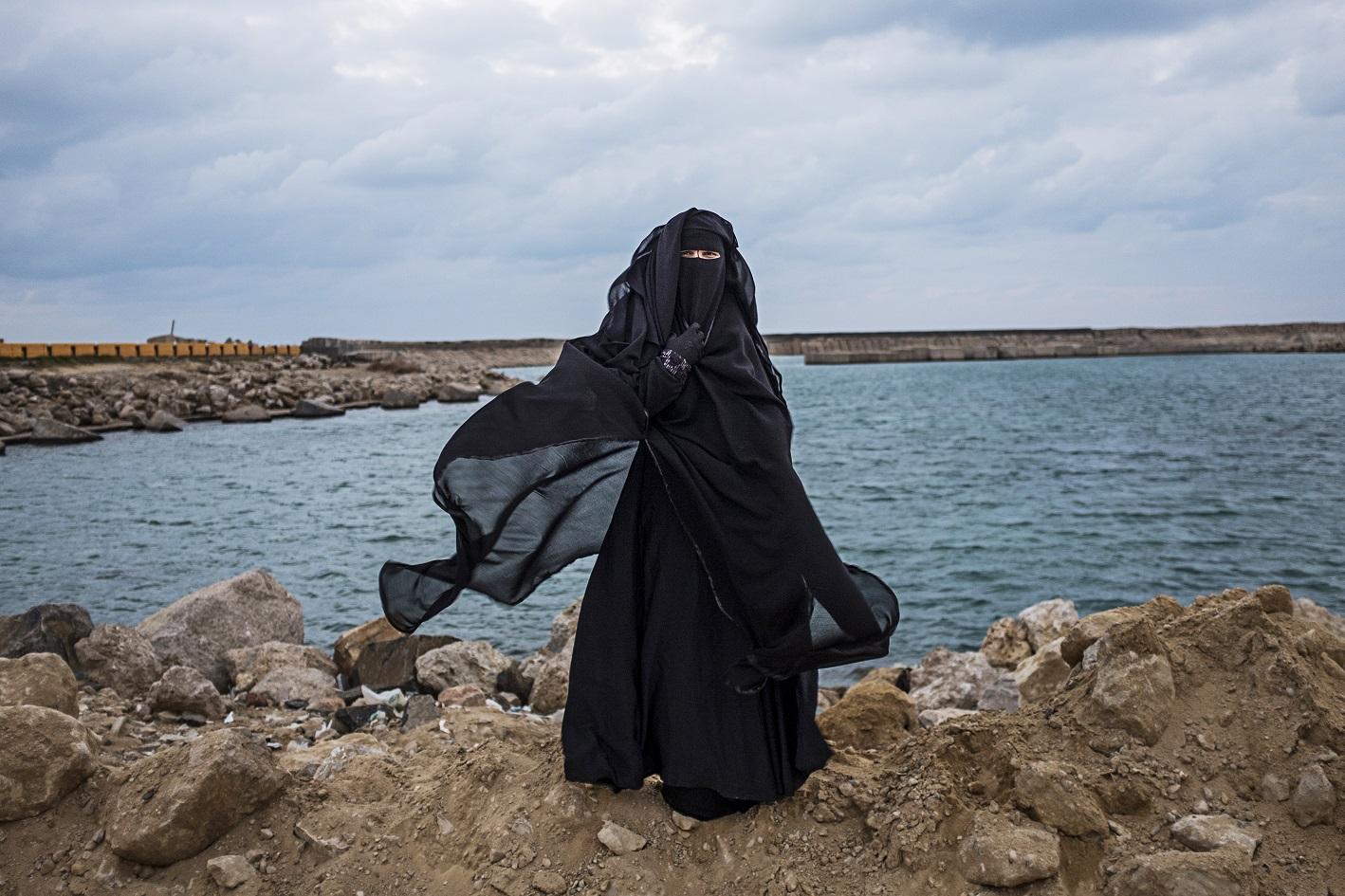 Photo issue de la série Transit bodies de Heba Khamis (avec l'aimable autorisation de l'auteure)
