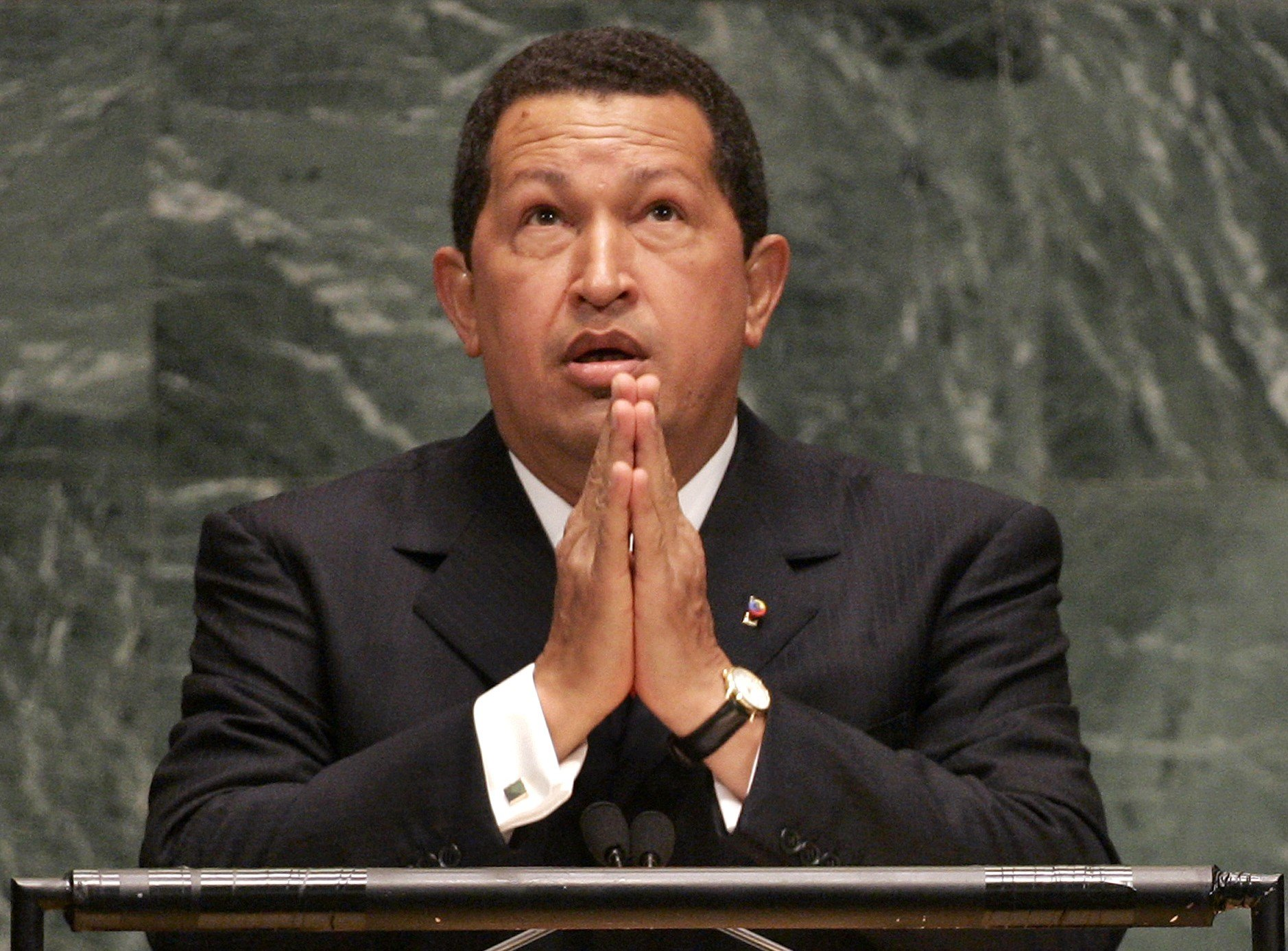 Chavez UNGA AFP file photo