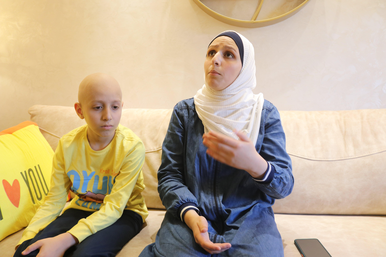 ahmed qawasmi and mother