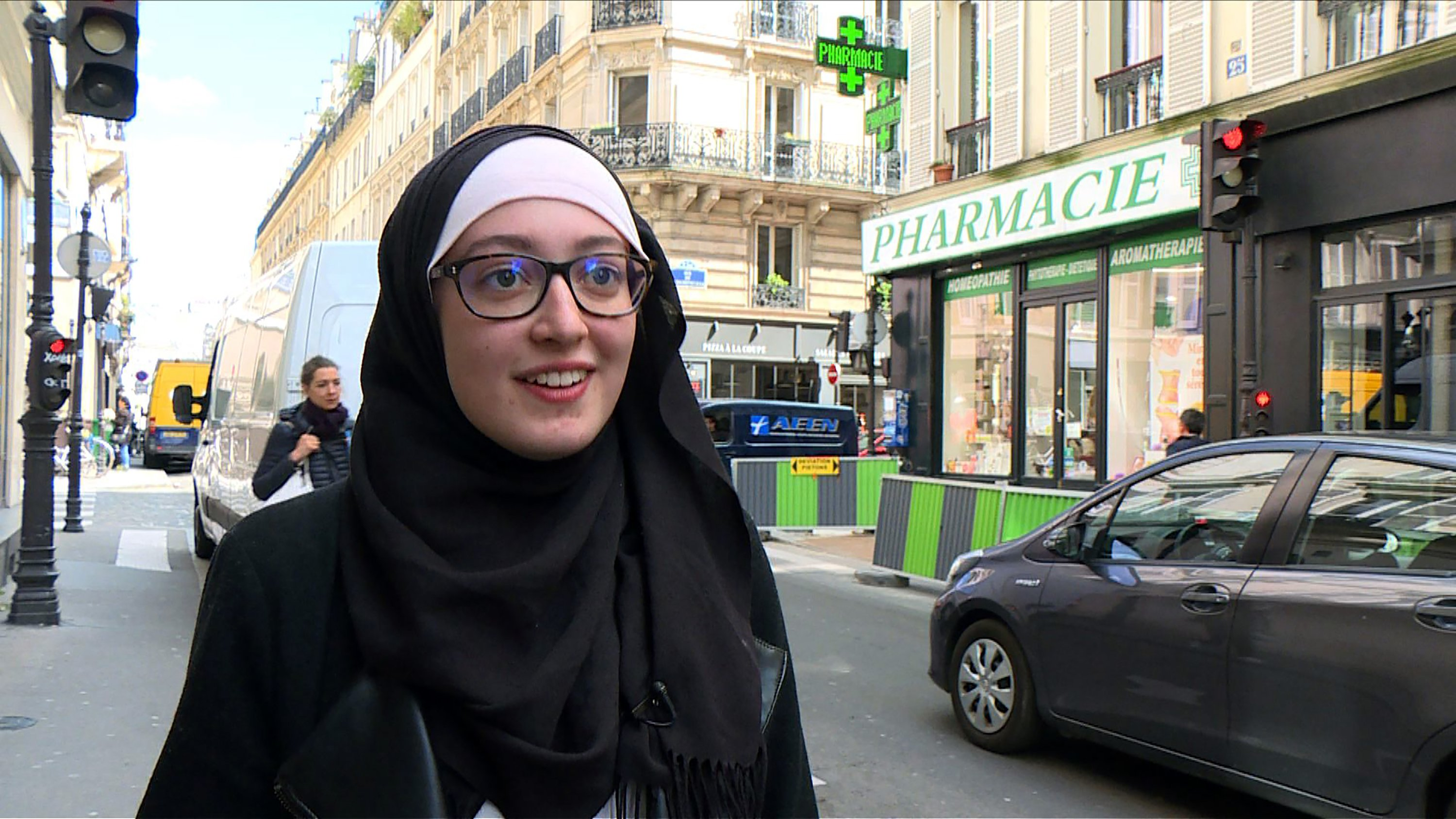 French MP leads assembly walkout over union representative wearing hijab