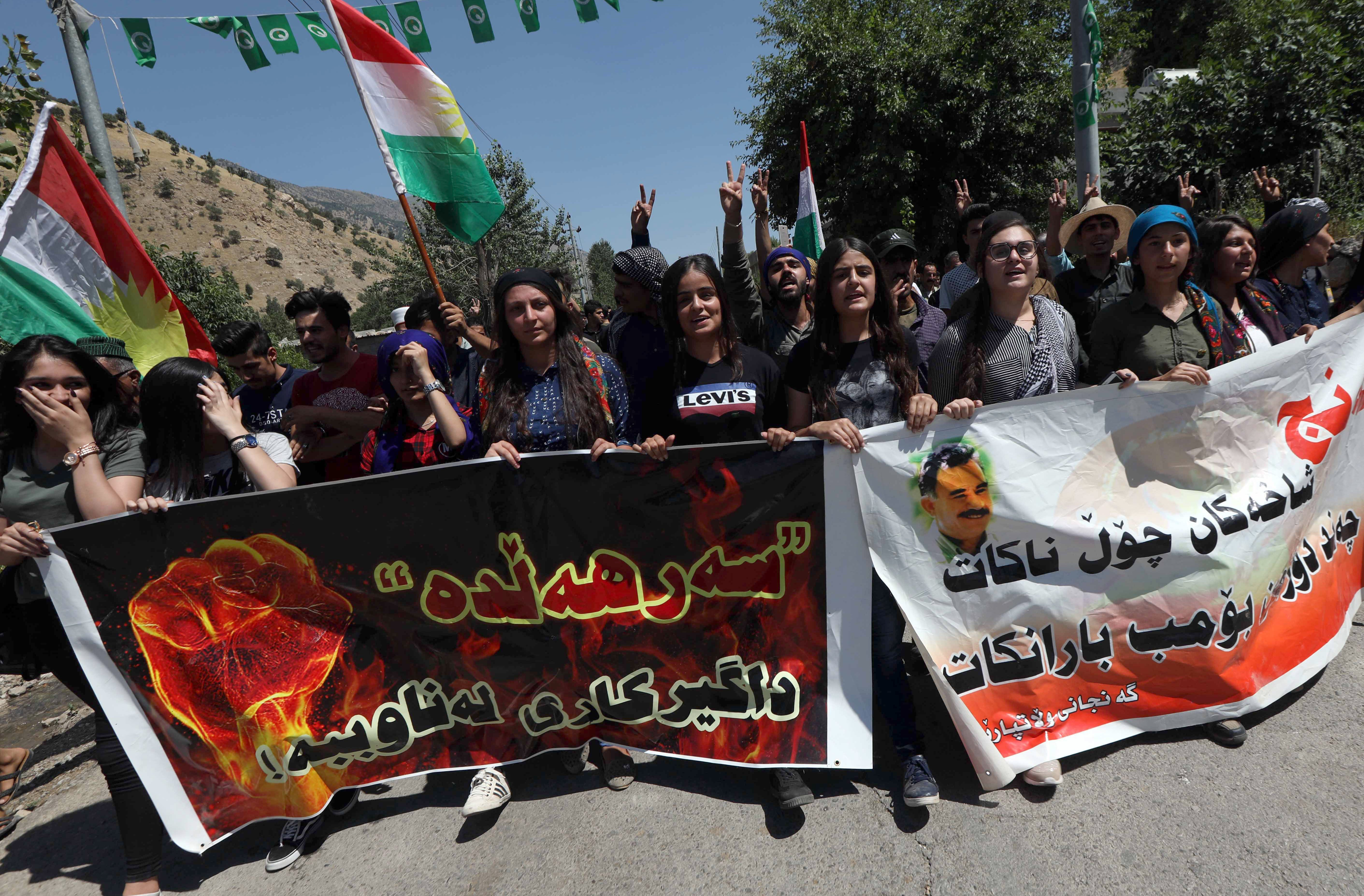 Kurdish tensions in northern Iraq raise prospects of PKK crackdown