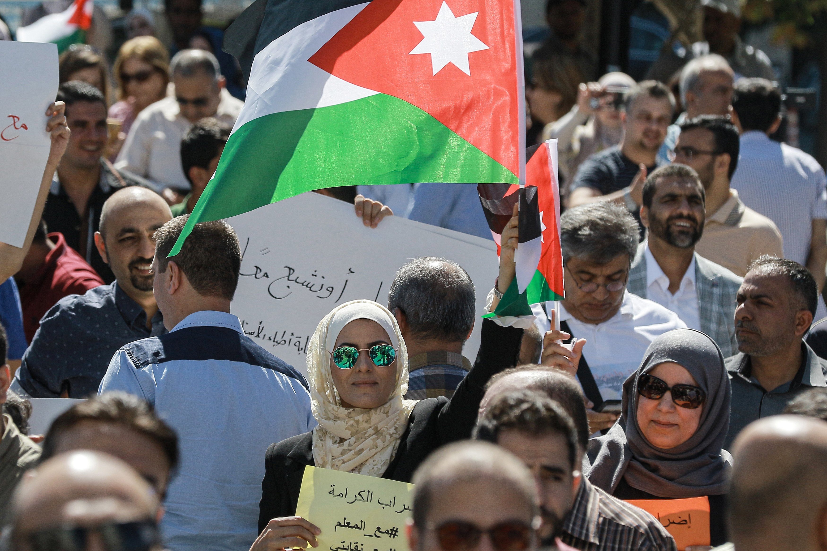 Jordan teachers' union threatens escalation after renewed tensions with government