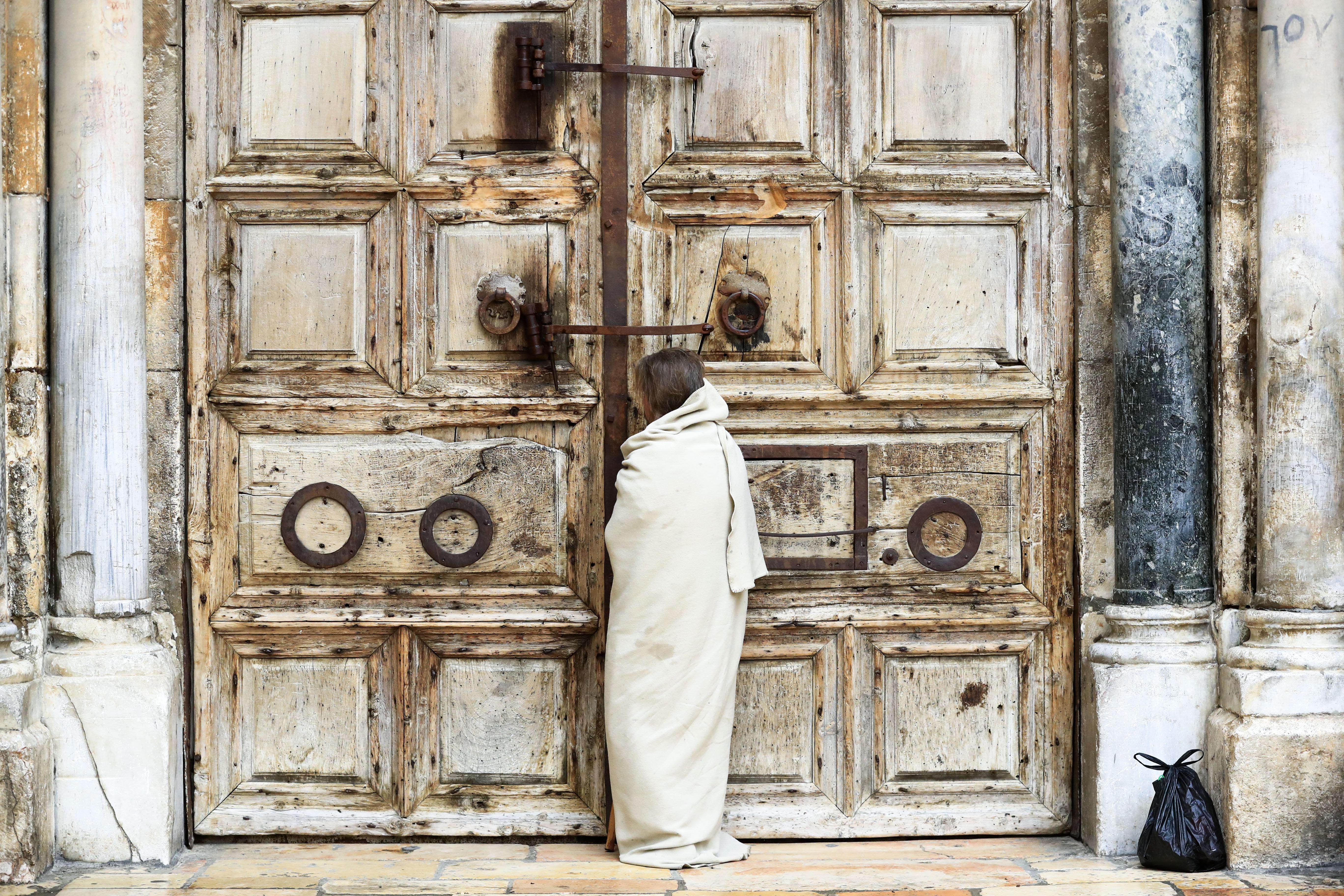 'A sad city': A solemn Easter for Christians in Jerusalem amid coronavirus shutdown
