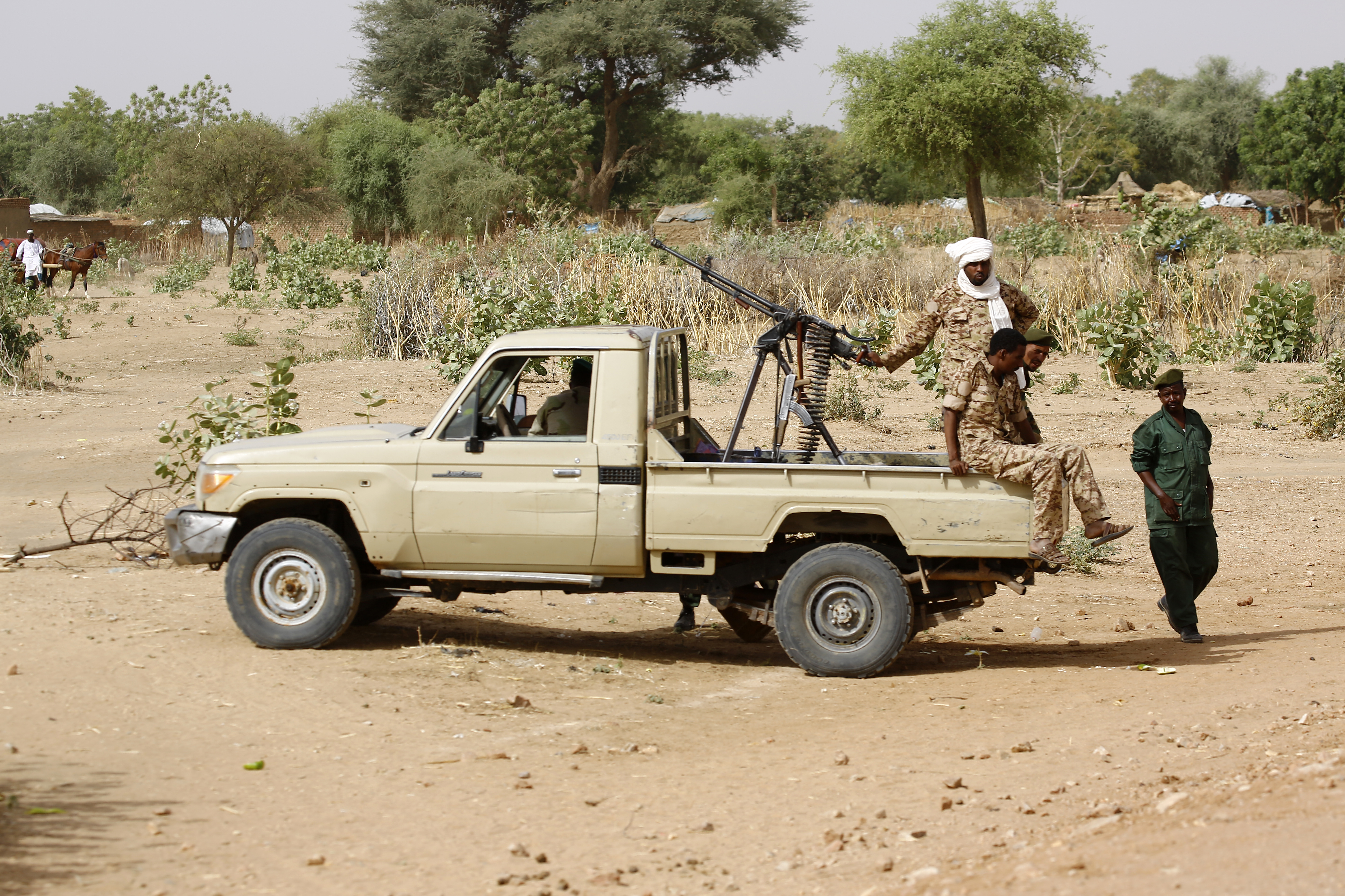Troops deployed in Sudan's Darfur after scores killed in clashes