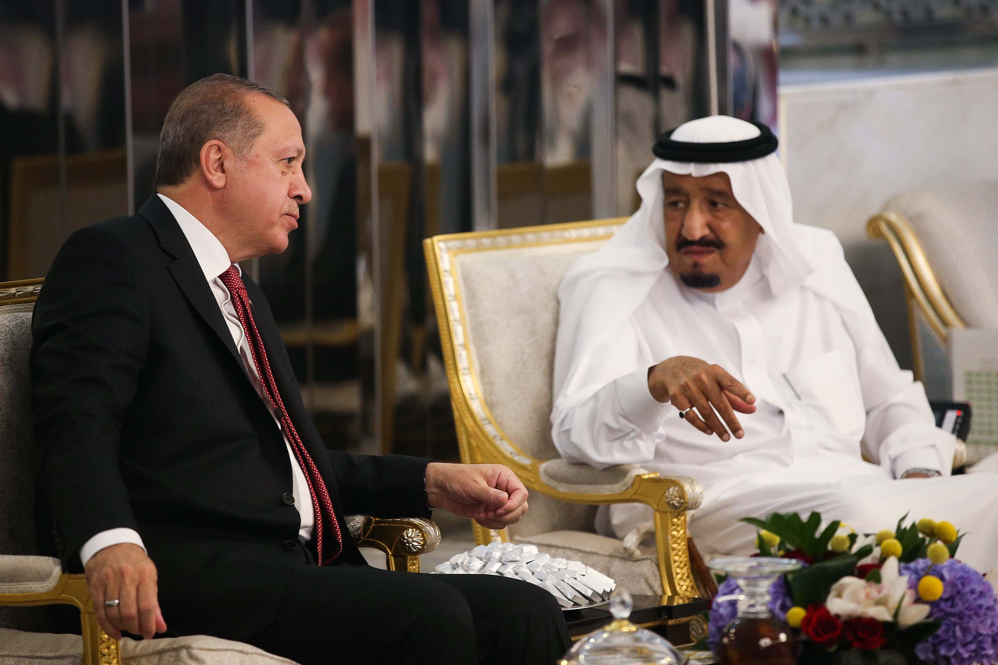 Turkey seeking to repair Saudi relations with high-level contacts
