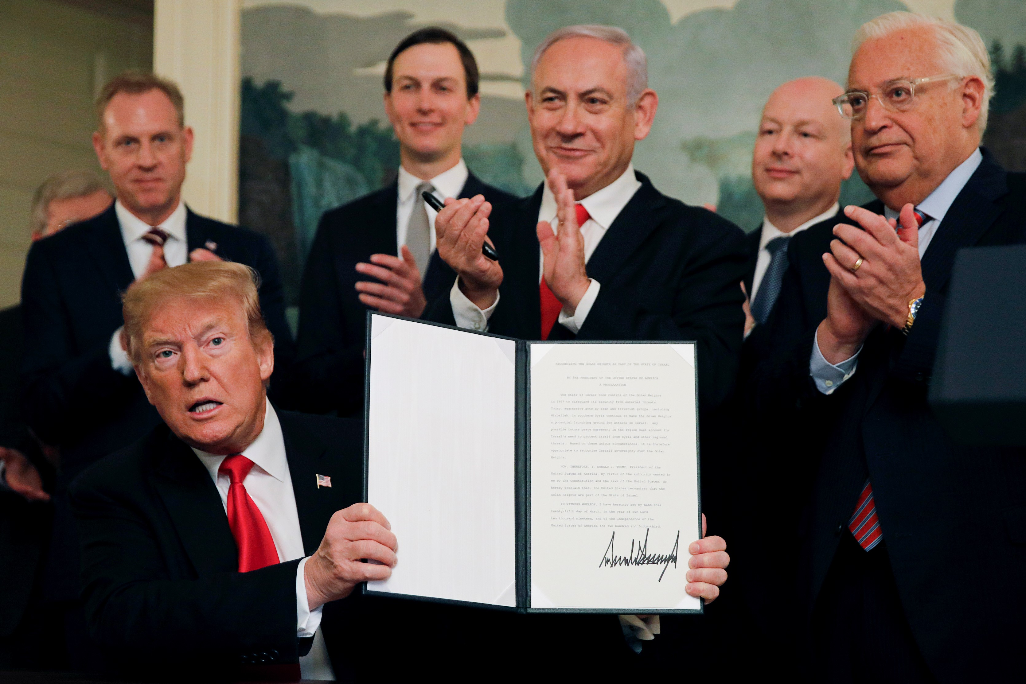 The 'deal of the century': US blessing for Israel's land theft and ghettoisation of the Palestinians