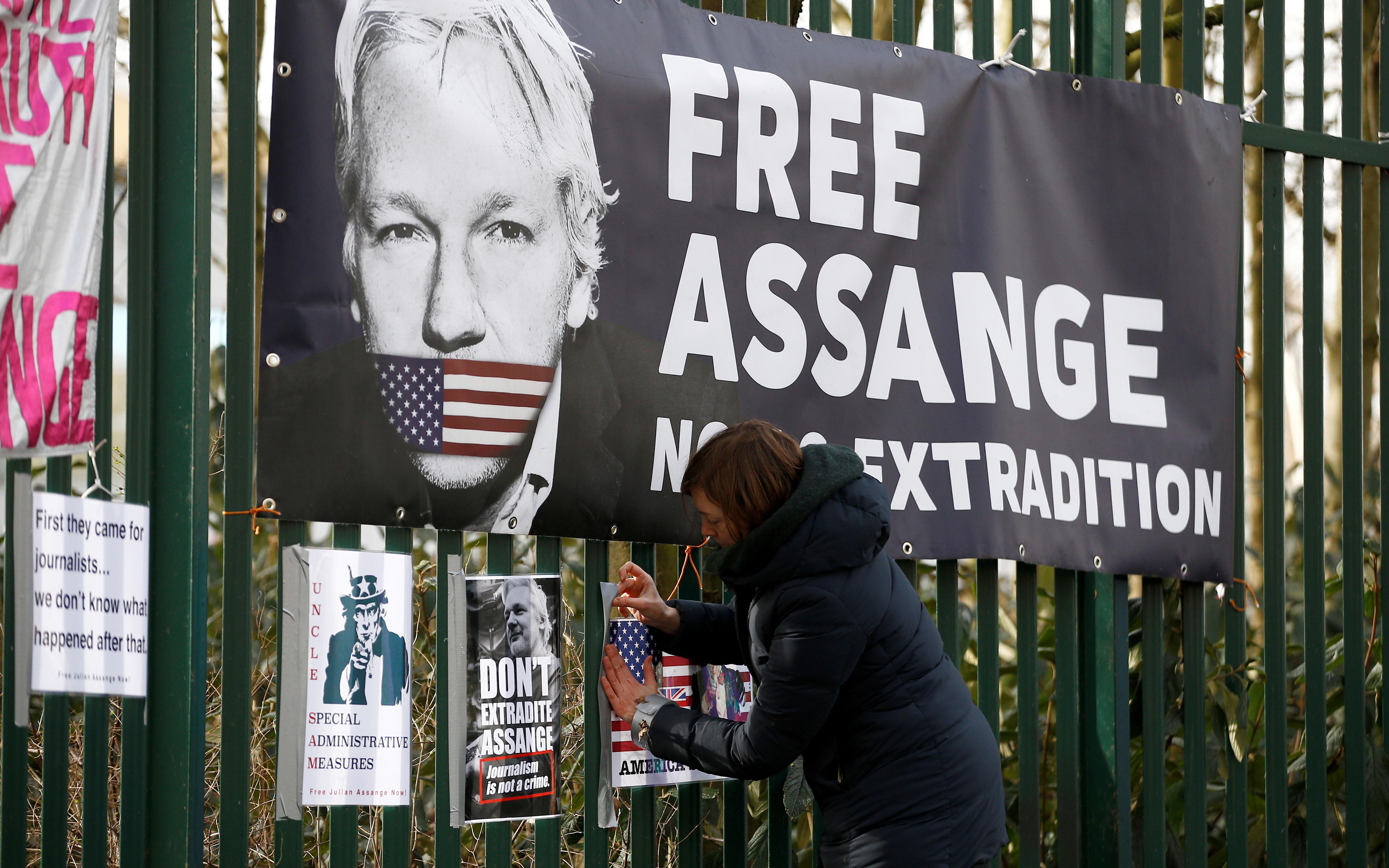 Julian Assange's case exposes British hypocrisy on press freedom