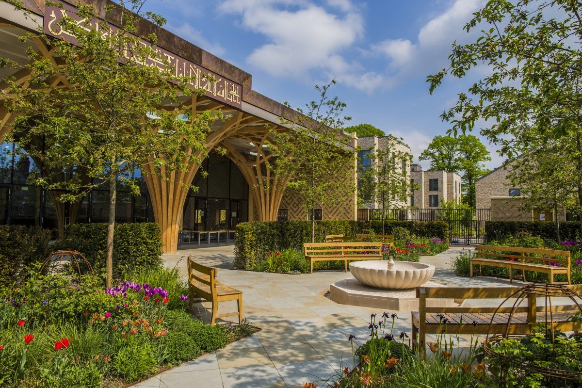 A Balm For The Soul How We Made The Cambridge Mosque Garden Middle East Eye
