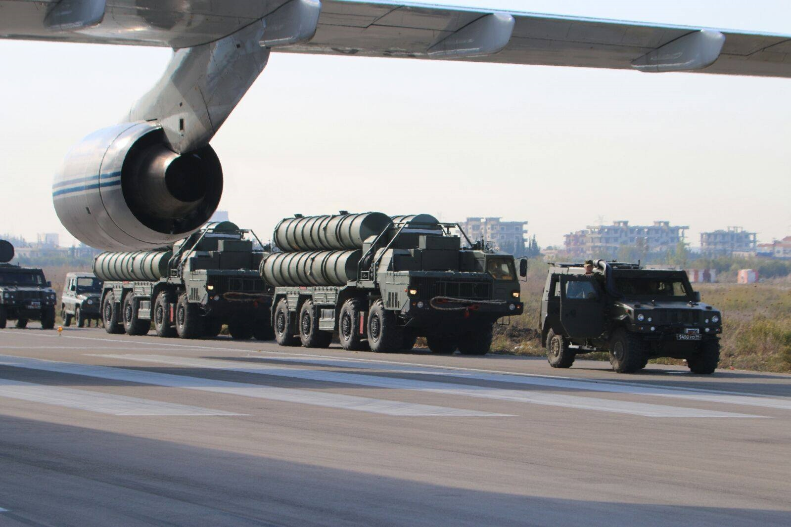 Turkey and the US have sparred over Ankara's S-400 purchase (AFP/Russian Defence Ministry)