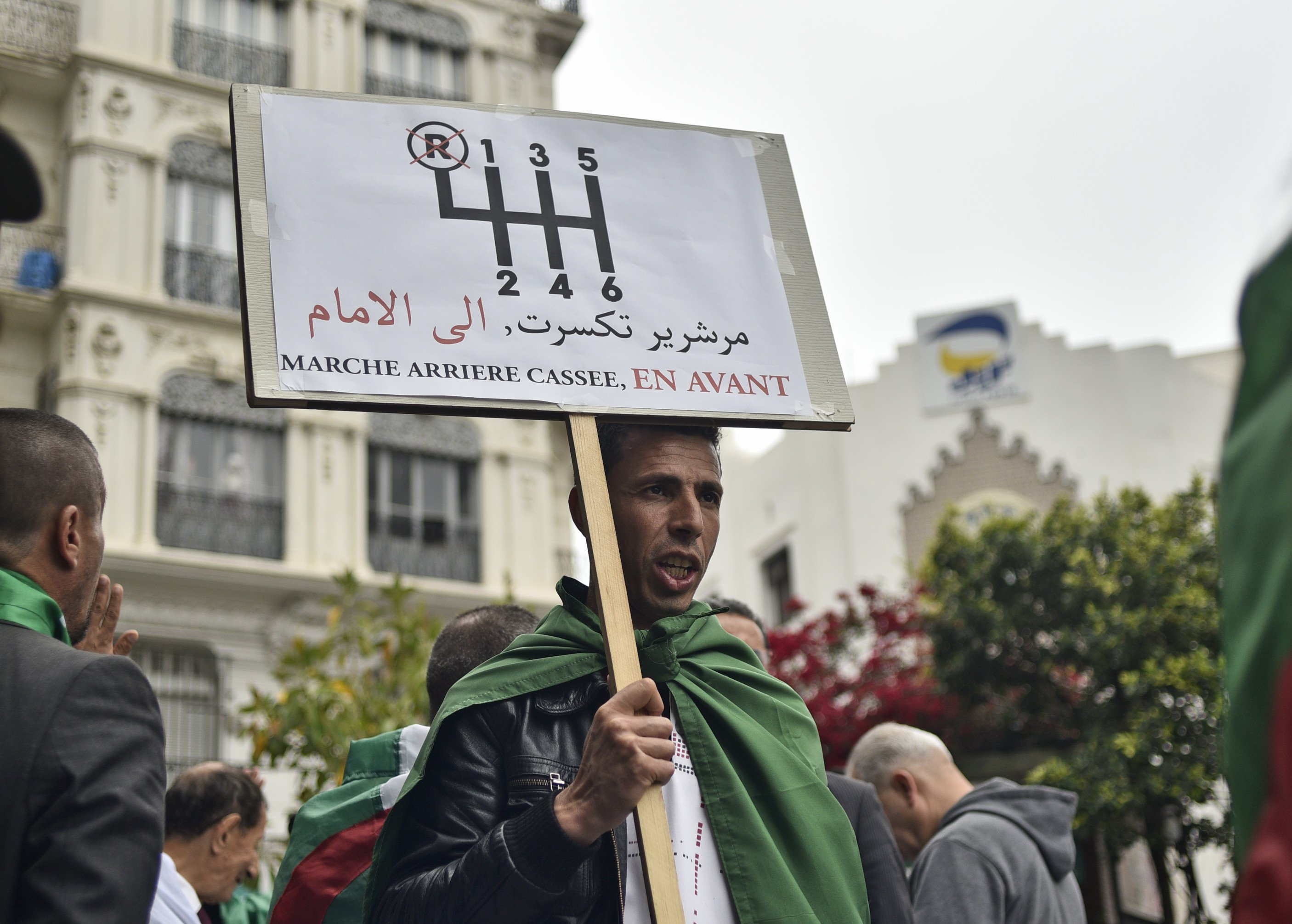 Algeria's mass demonstrations continue during Ramadan (AFP)