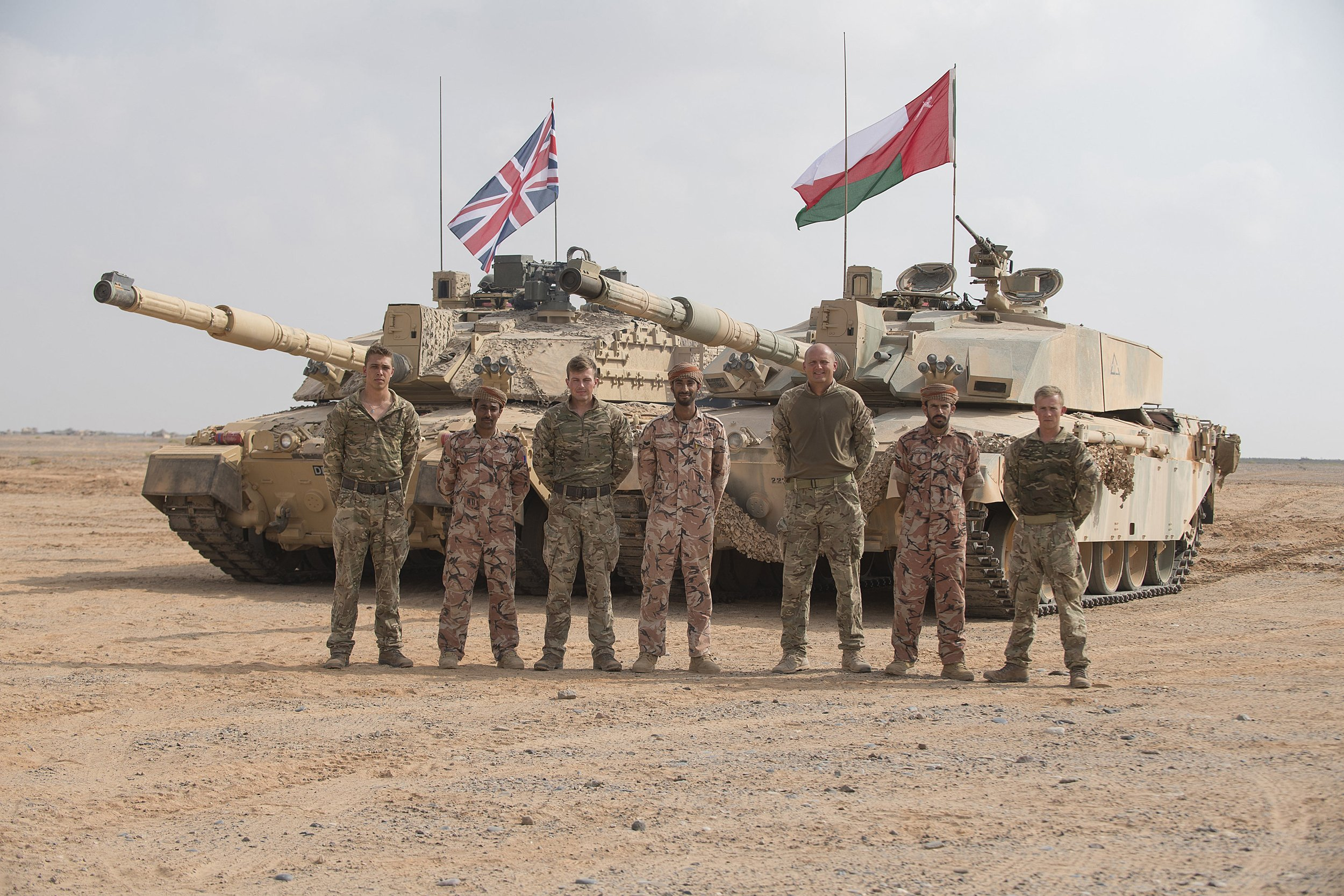 British military operating in scores of locations across Middle East