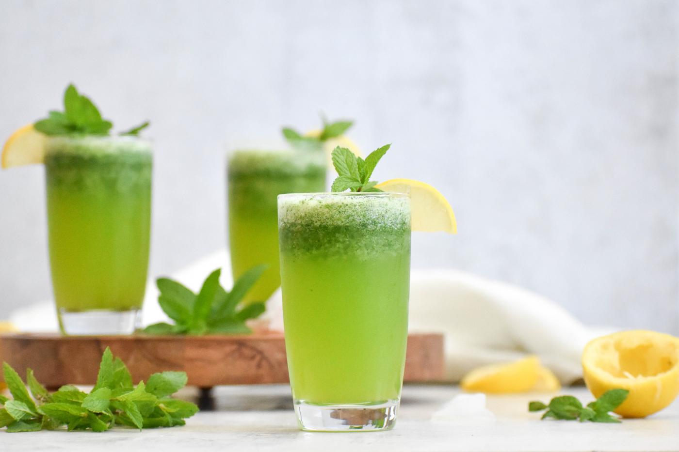 Ramadan: How to make refreshing mint lemonade