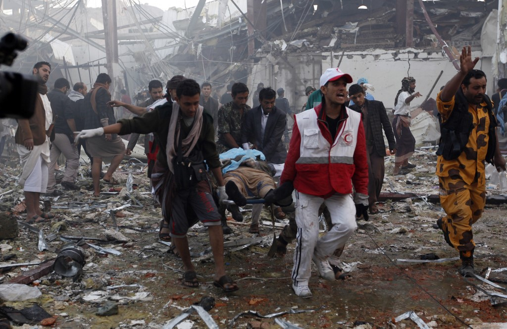 <b>Lawyers ask US and UK police to investigate Saudi coalition for Yemen war crimes</b>