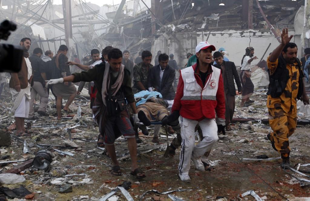 <b>Lawyers ask US and UK police to investigate Saudi coalition for Yemen war crimes</b>