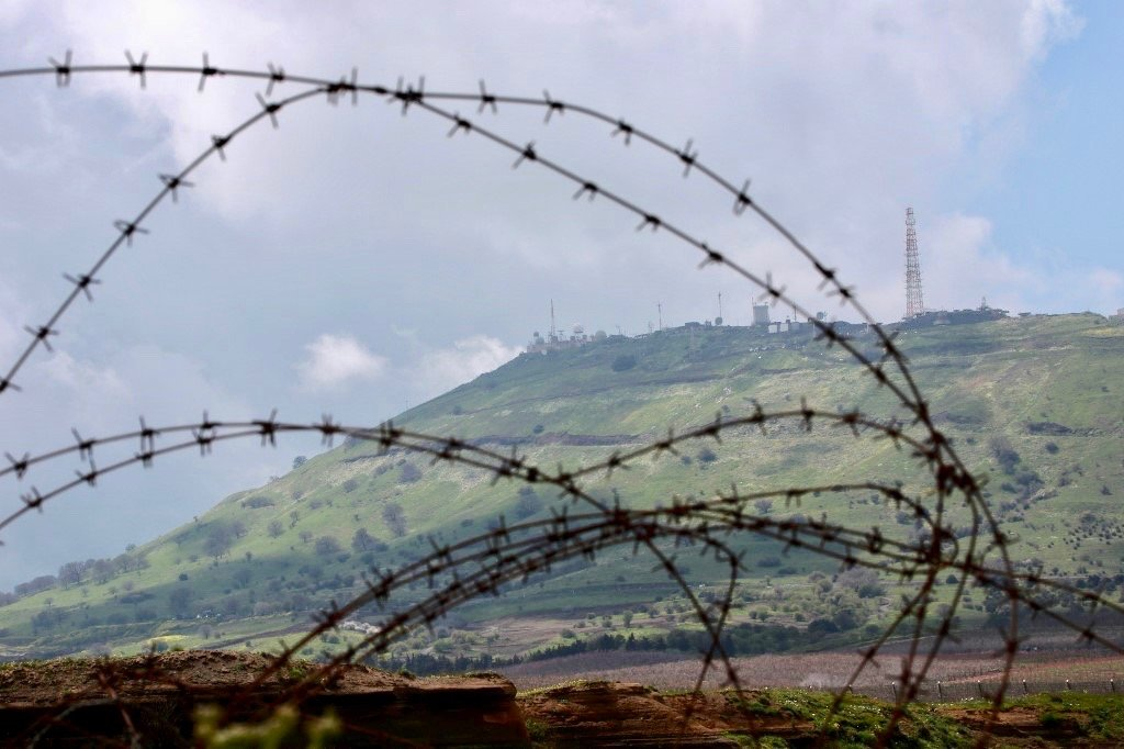 Israeli army says it thwarted 'Syrian regime' attack in Golan Heights