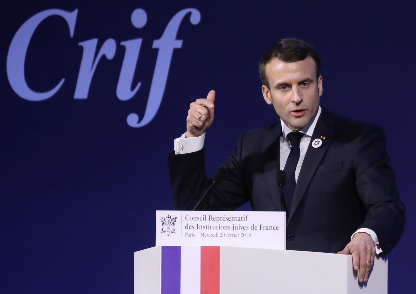 "French President Emmanuel Macron is overseeing the ""normalisation of racist rhetoric"" (Reuters)"