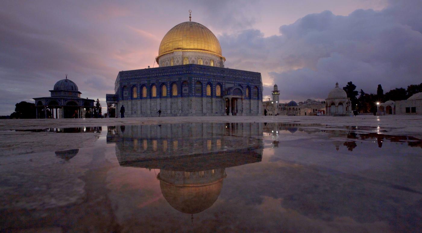 Jerusalem's Al-Aqsa Mosque: 'The side you've never seen
