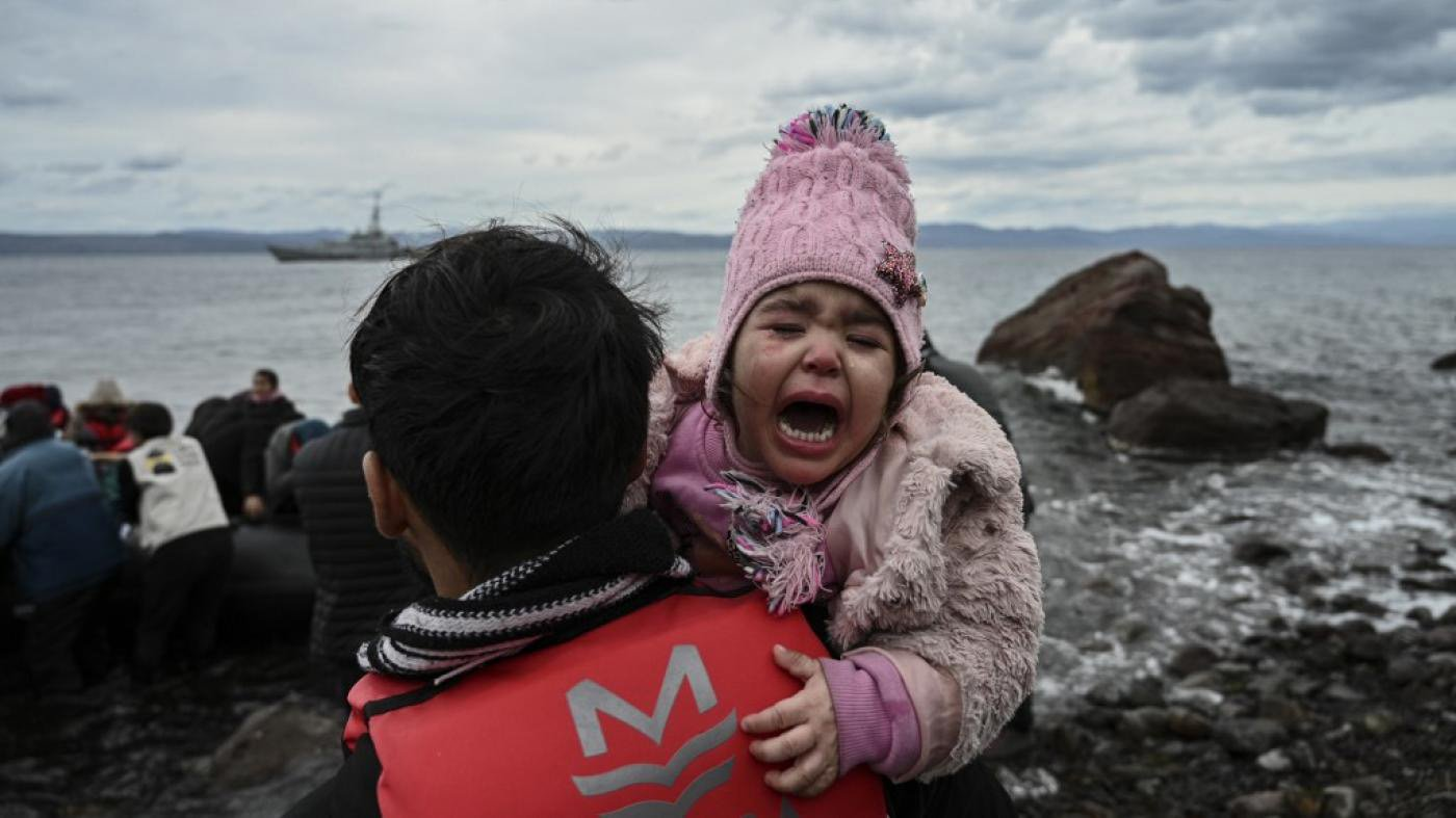 Refugee boats leaving Turkey for Greece attacked at sea | Middle ...