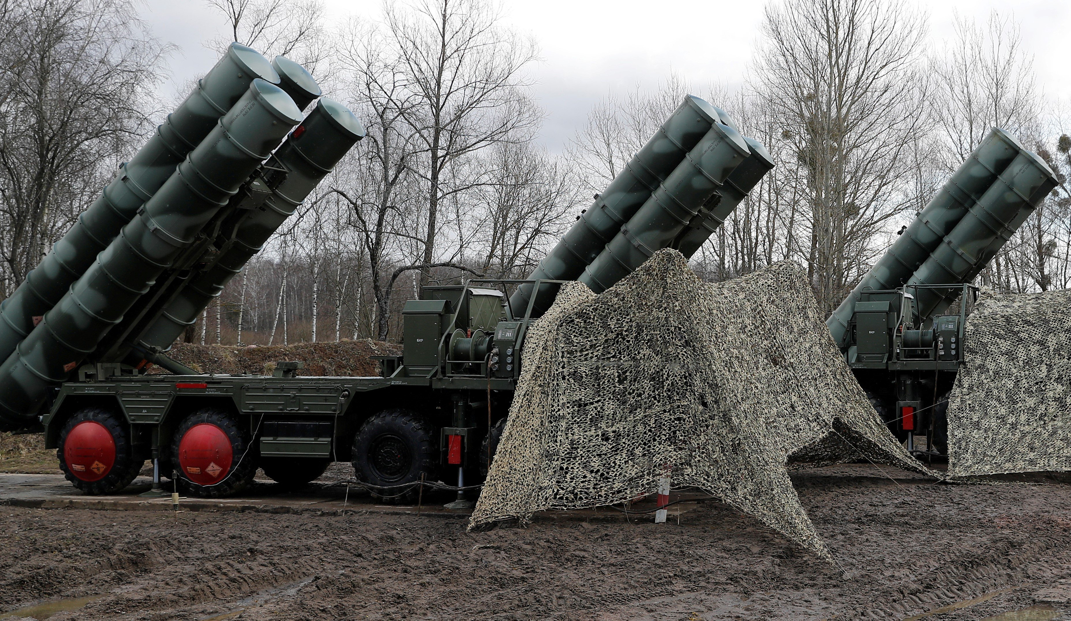 Turkey activated the S-400 missile system in defiance of Washington (Reuters)