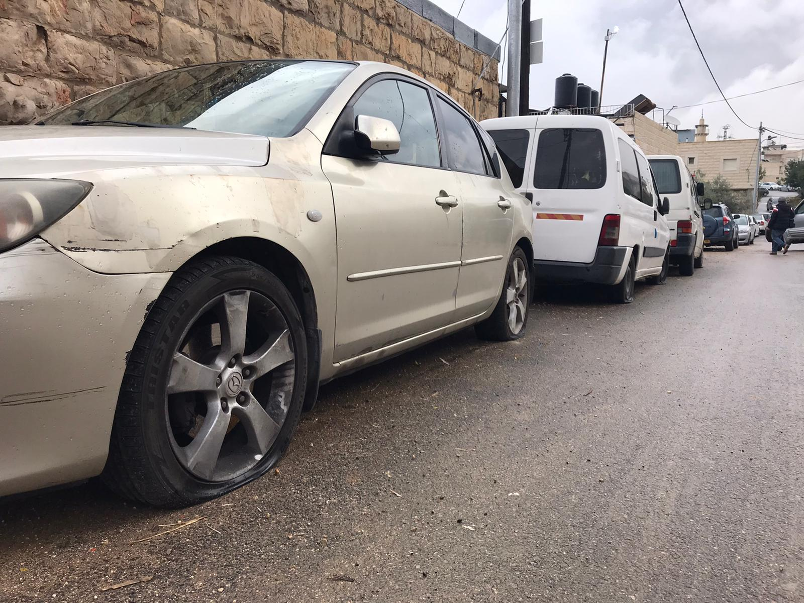 Palestinian cars and homes vandalised in 'price-tag' attacks in East Jerusalem