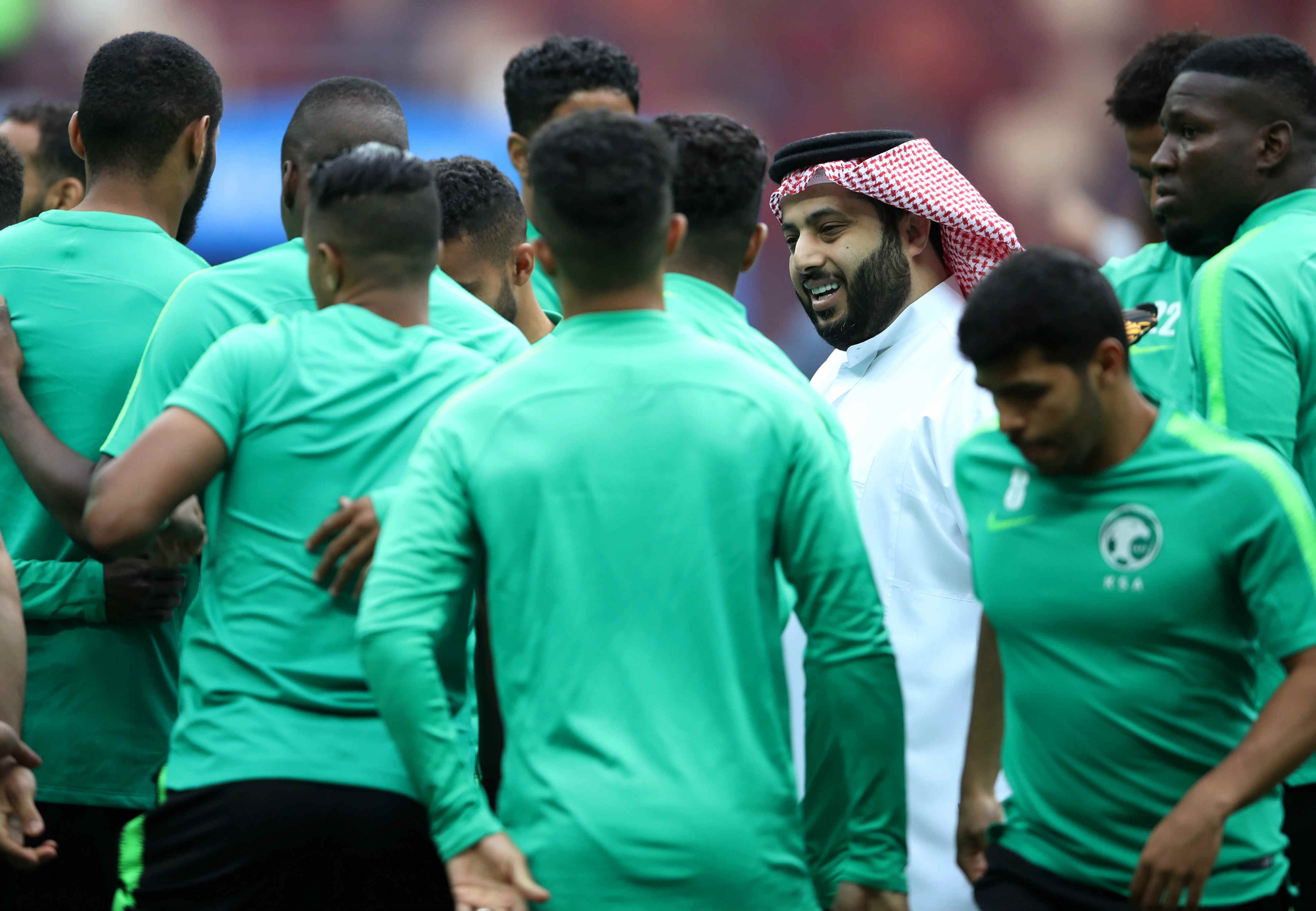 Saudi sports chief lets rip at UEFA football officials on Twitter