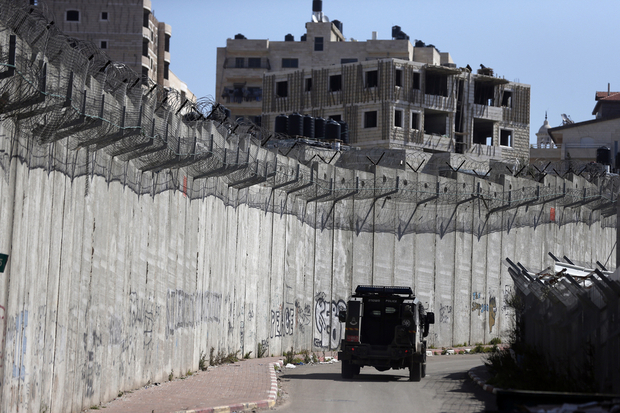 Israel's separation wall is considered illegal under international law (AFP)
