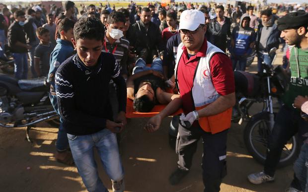 Palestinian demonstrator dies week after being shot by Israeli forces