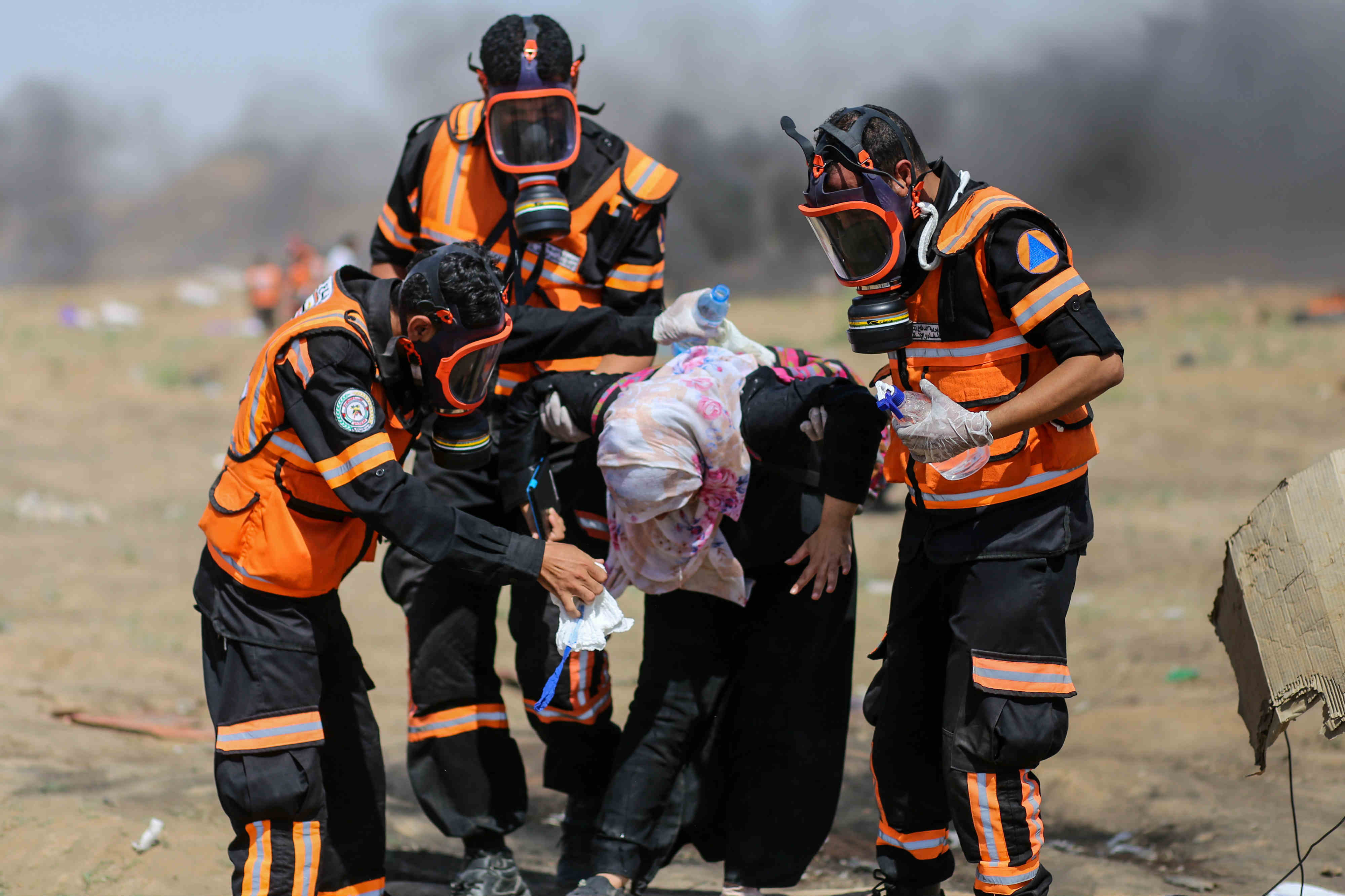 Palestinian dies after being shot in head at protest