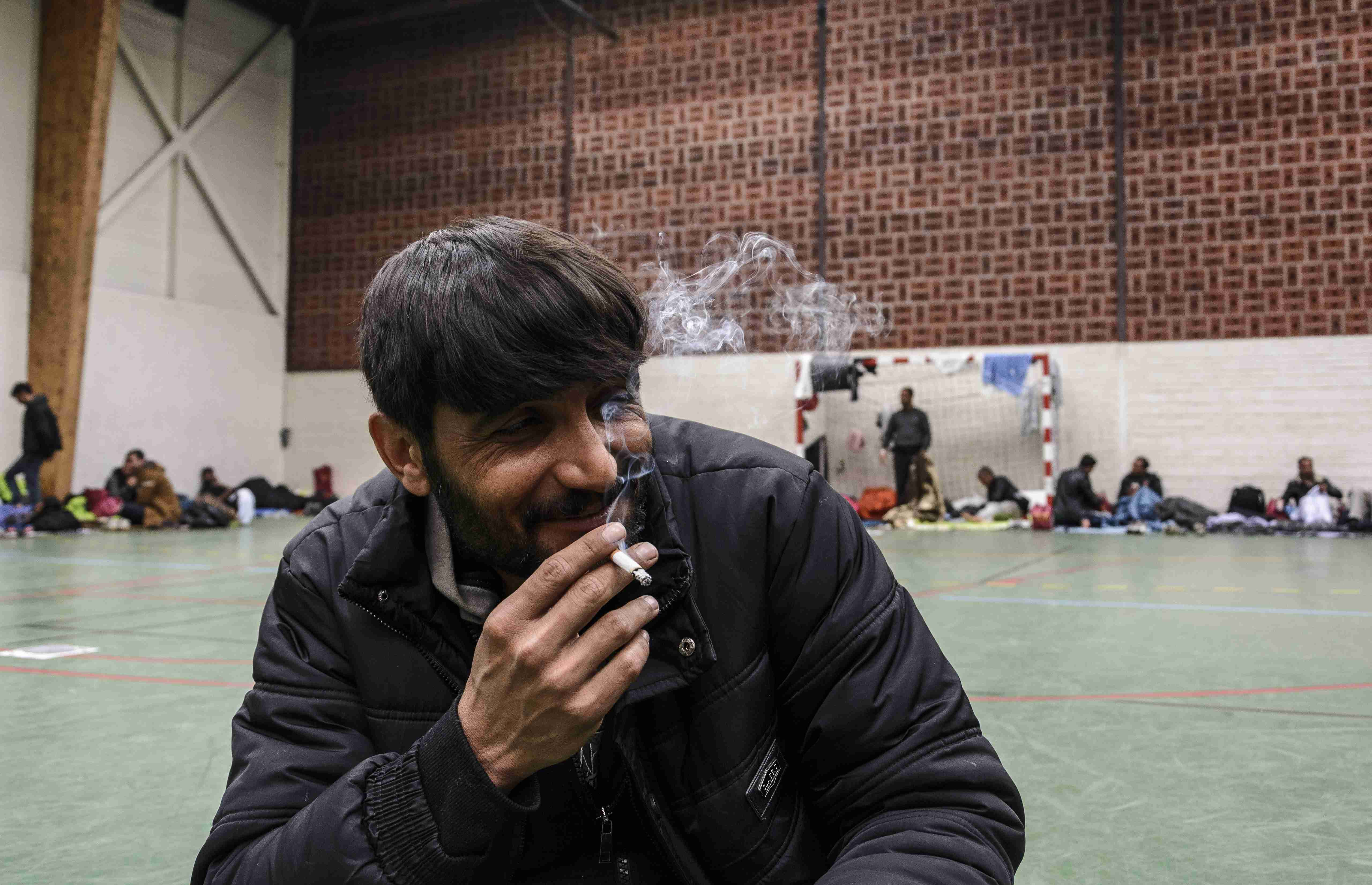 After the fire: What next for the refugees from Dunkirk camp?