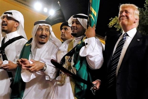 'Thanks Saudi A!': Trump says kingdom pledged to fund Syria reconstruction