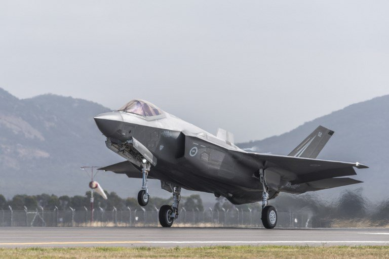 Turkish officials receive first F-35 delivery from Washington despite tensions