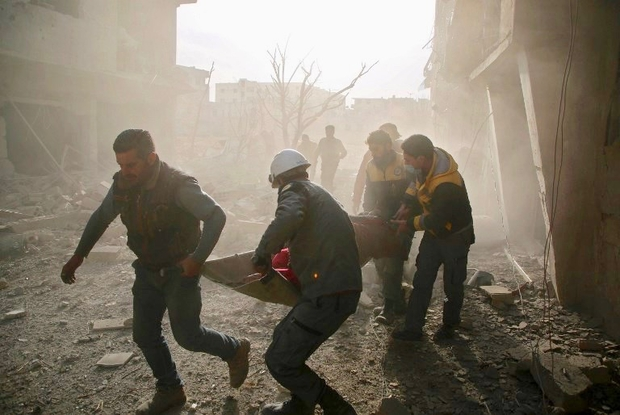 Jordan says nearly 300 Syrian White Helmets leave for resettlement in West