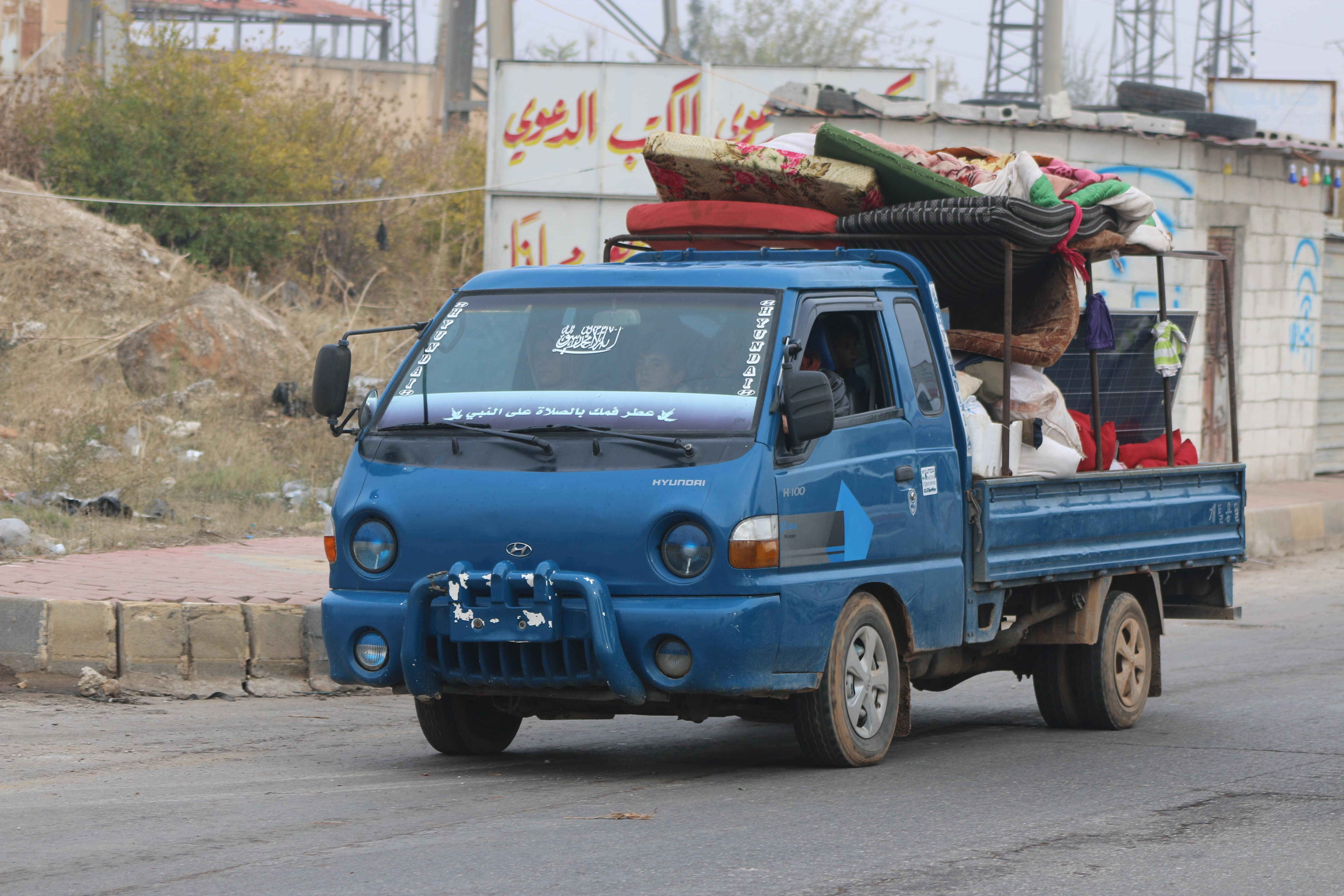Thousands of civilians have fled Idlib since the end of last week