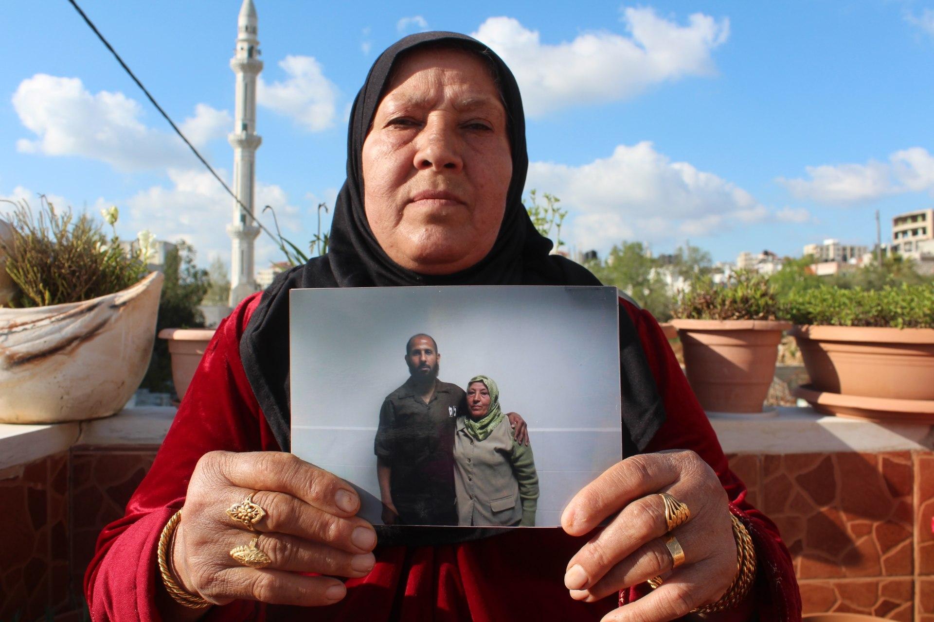 Myassar Hammad's son was given seven life sentences (MEE/Shatha Hammad)