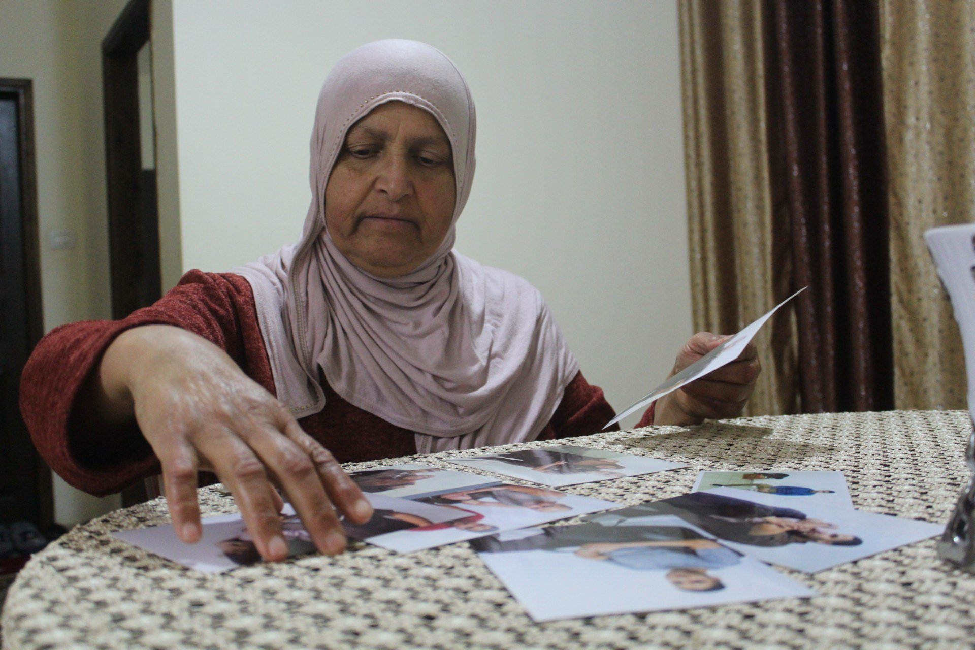 Zainab Hamed's son Ibrahim has the second-longest sentence in Israeli prisons (MEE/Shatha Hammad)