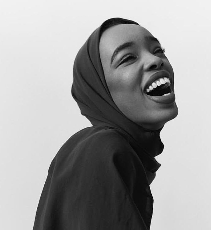 Rahma Sheikh said that she was accused of not being versatile by fashion bookers (@shotbyroche)