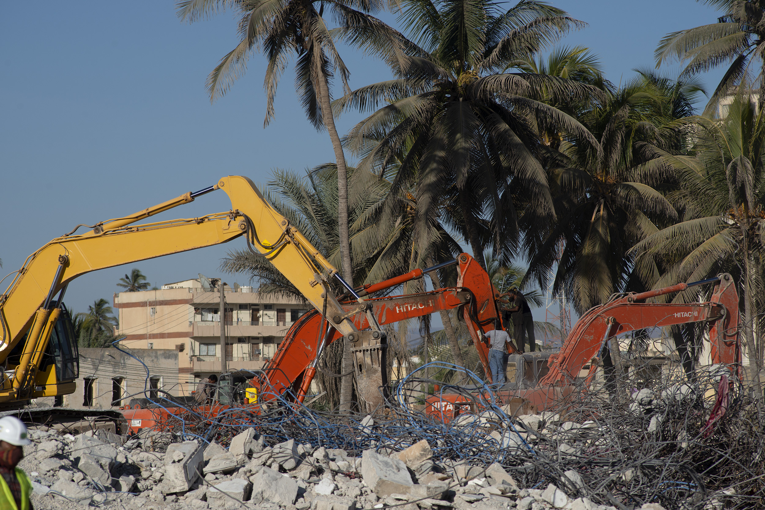 hafa demolition, Salalah