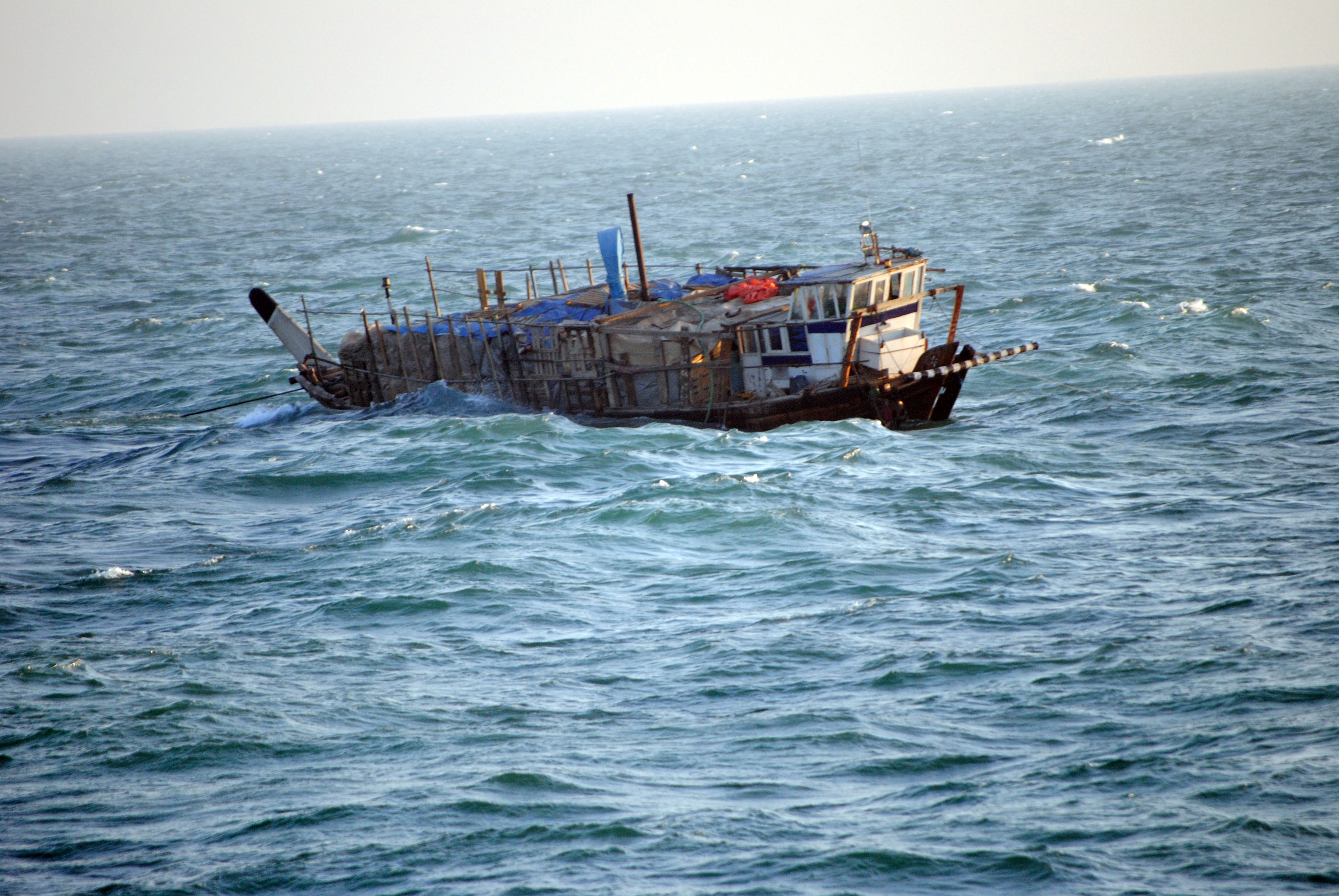 File photo of Iranian dhow (AFP/File photo)