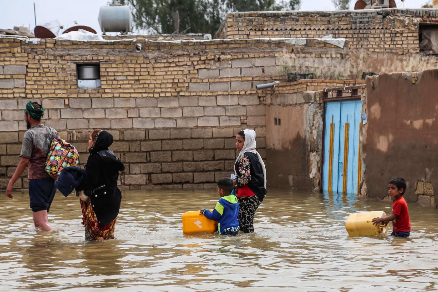Tens of thousands of Iranians have lost their homes due to flash floods across the country