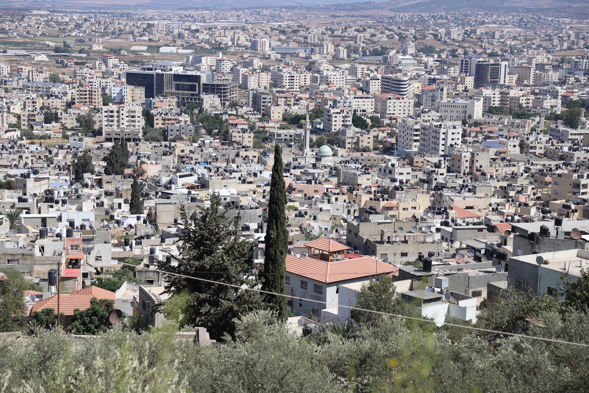 Jenin city and camp