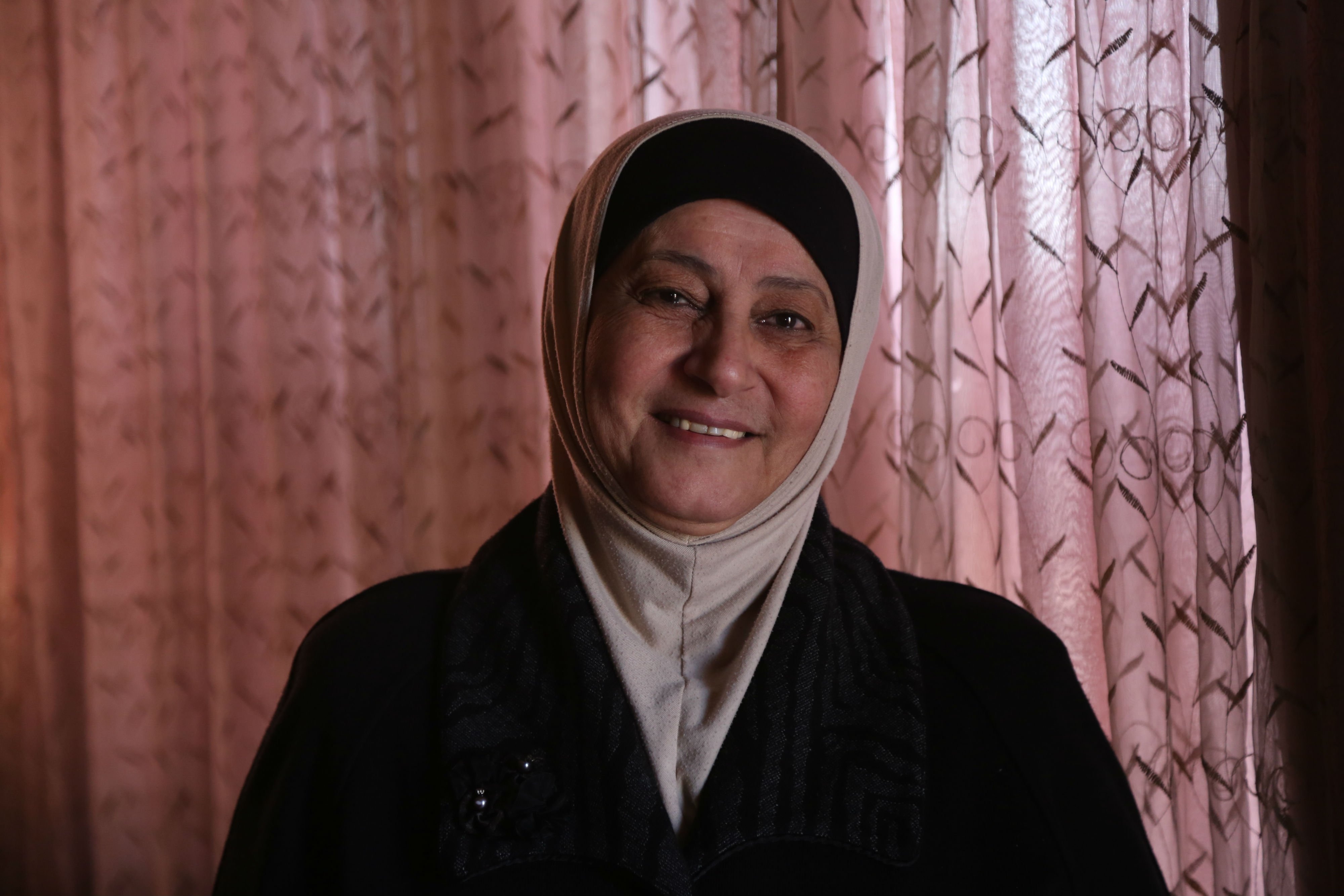 Abu Kmail was responsible for her children after her husband died and her salary was her only source of income (MEE/Samar Abu Elouf)