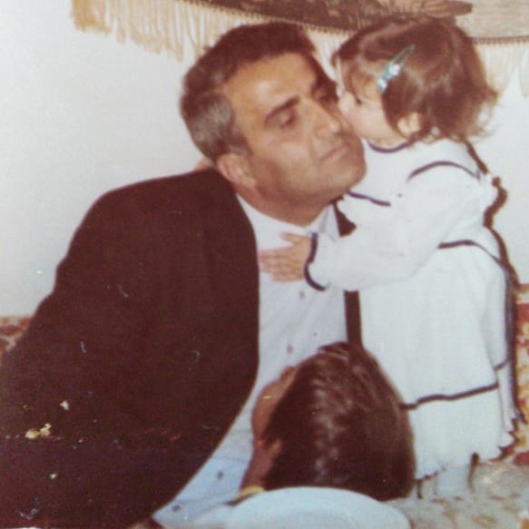 The last birthday that Ola spent with her father was when she turned three in October 1985. (MEE/Ola Hamzeh)