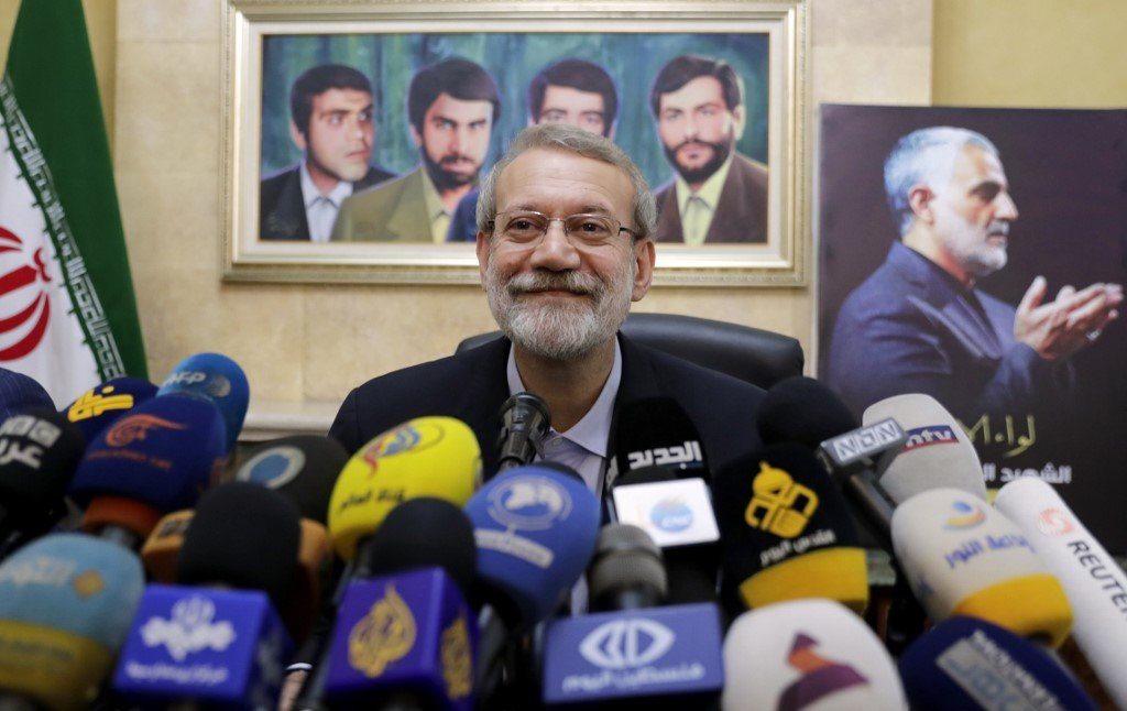 Former parliament speaker Ali Larijani is among the potential moderate candidates (AFP)