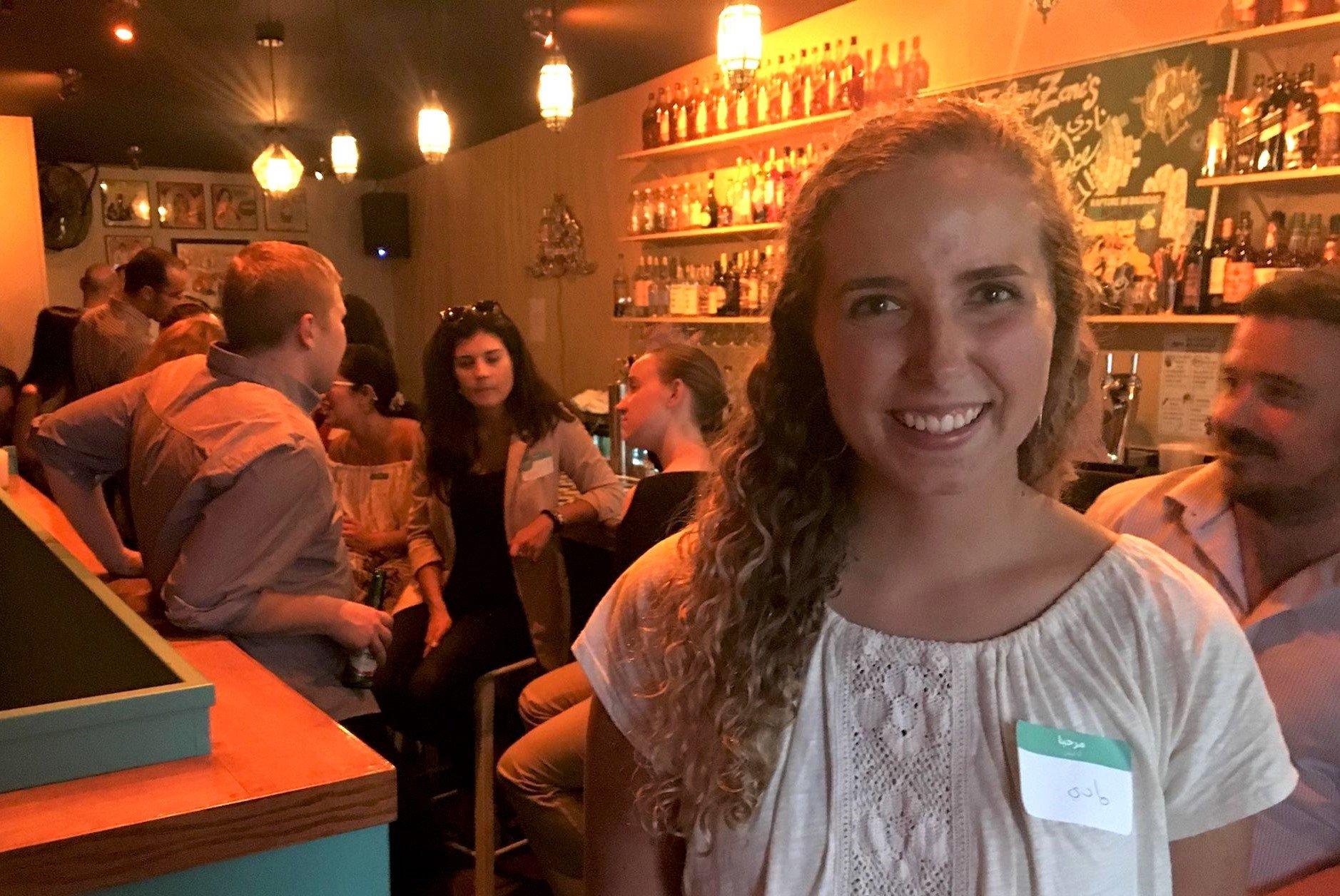 No English allowed': This Washington DC bar mixes Arabic